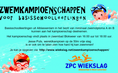 Zwemkampioenschappen voor basisschool leerlingen