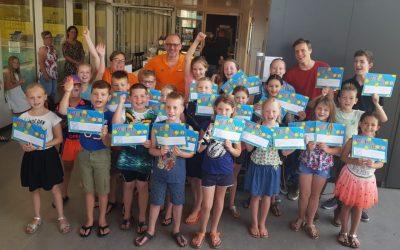 Diplomaregen waterpolo jeugd